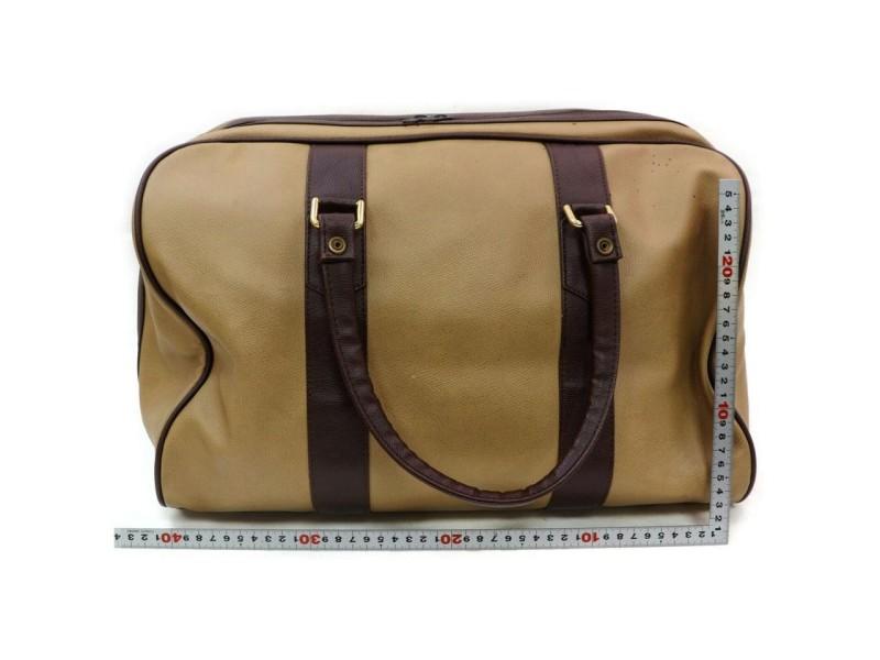 Burberry London Beige Nova Check Duffle Bag 13Bur712