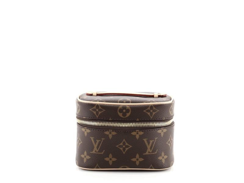 Louis Vuitton Nice Vanity Case Monogram Canvas Nano