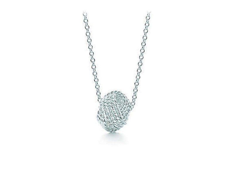 Tiffany Twist knot pendant in sterling silver Tiffany & Co. ulvZhhYwH7