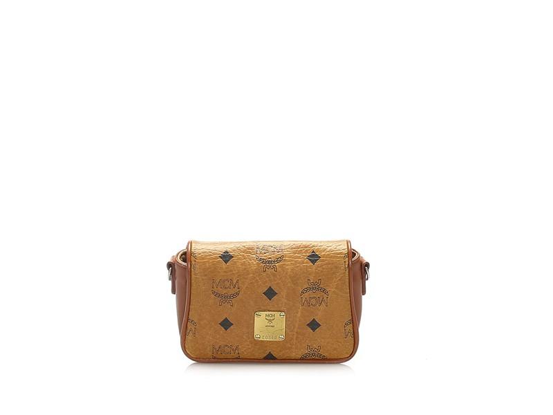 Visetos Leather Crossbody Bag