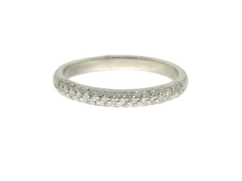Tacori Platinum .23ctw Diamond Ring Size 6.5