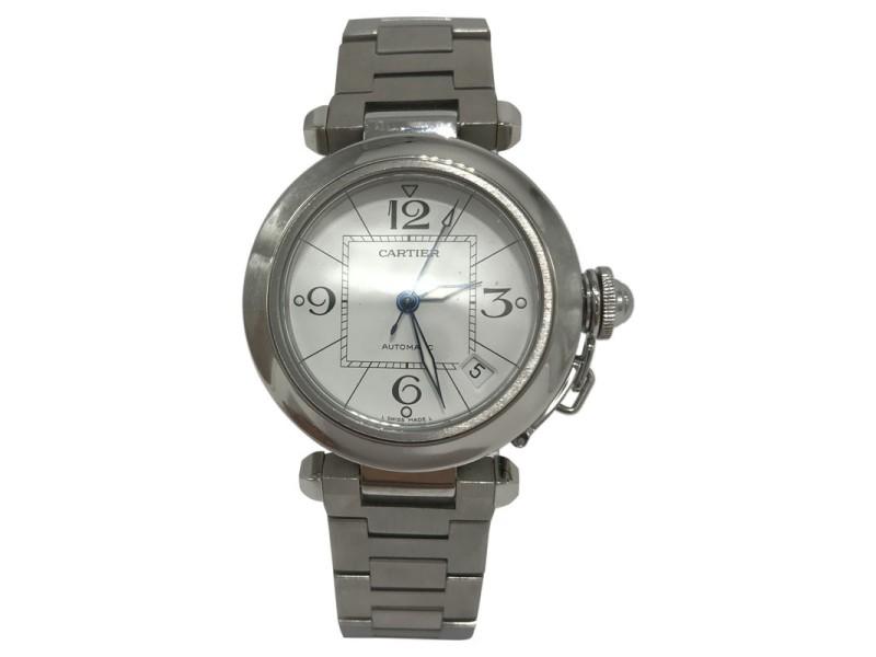 Cartier Pasha C W31074M7 35mm Mens Watch