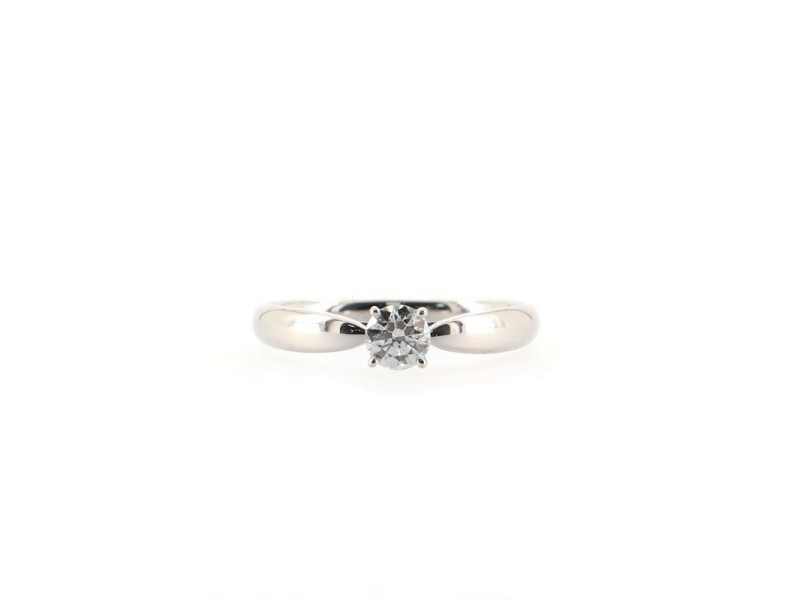 Tiffany & Co. Harmony Engagement RIng Platinum and Diamond .31CT F/VVS1 5.75 - 51