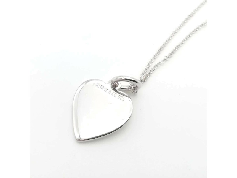 TIFFANY & Co. silver Simple Heart Necklace