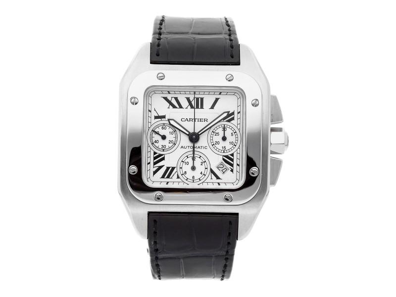Cartier Santos 100 W20090X8 41mm Mens Watch