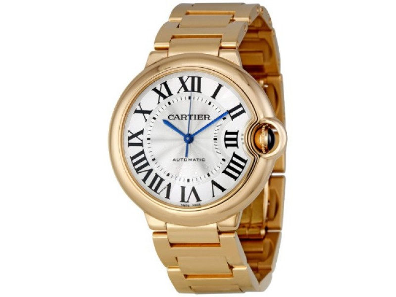 Cartier W69004Z2 Ballon Bleu Medium 18K Rose Gold Watch