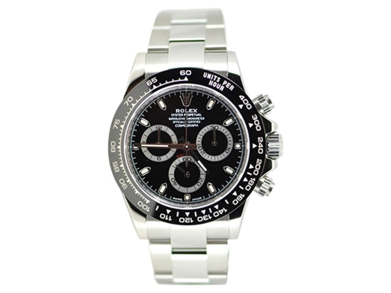 Rolex Daytona Cosmograph Stainless Steel & Ceramic 40mm Watch
