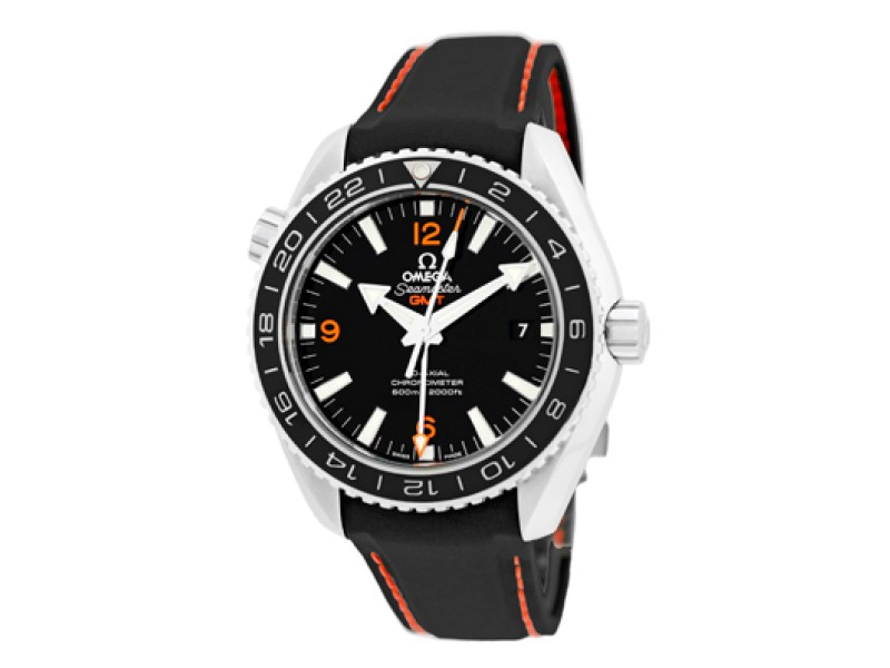 "Omega ""Seamaster Planet Ocean 600m GMT"" Stainless Steel Strapwatch"