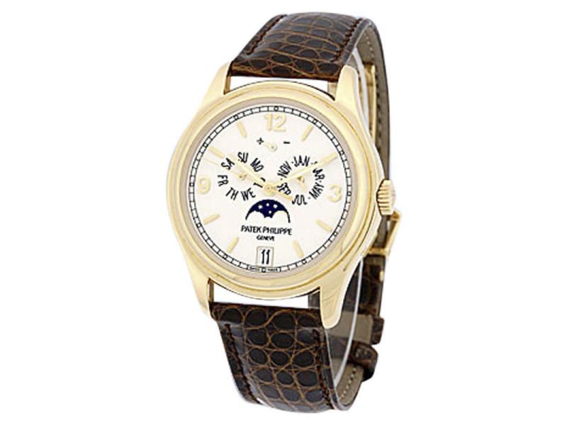 Patek Philippe Annual Calendar 5146 18K Yellow Gold Mens Watch