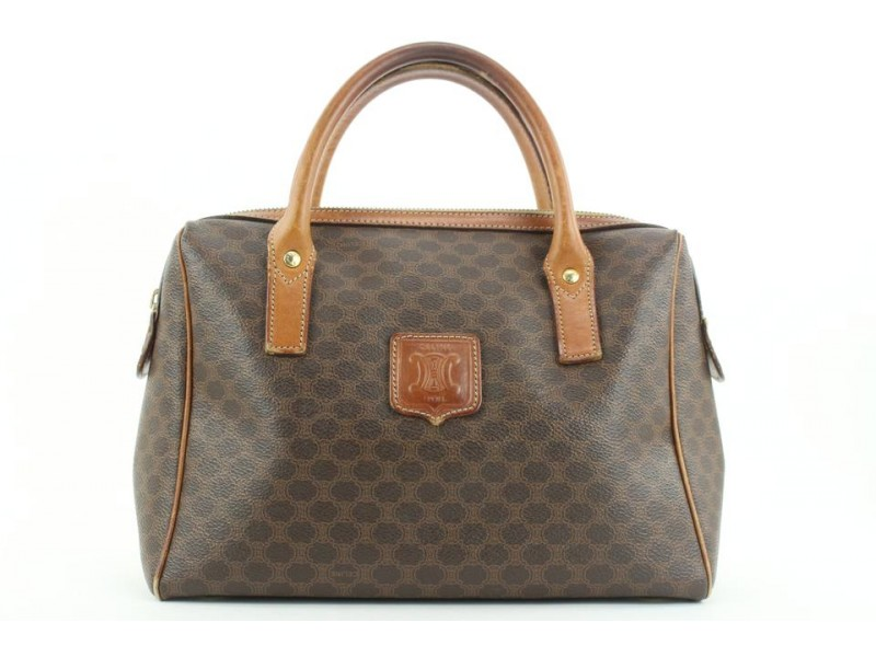 Céline Monogram Macadam Boston Bag 19cel121