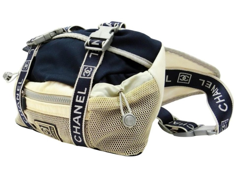Chanel CC Sports Bum Bag Fanny Pack Waist Pouch Sports 239579