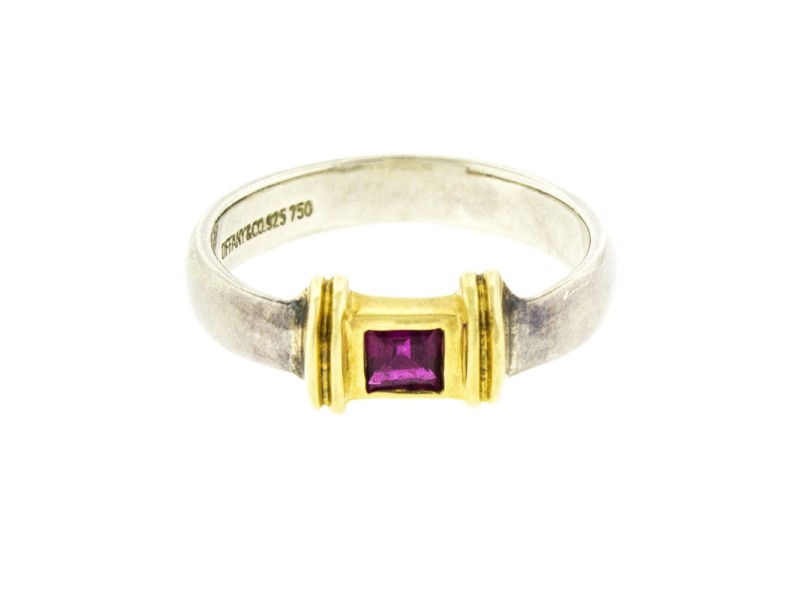 Tiffany & Co. Two-tone Ruby Ring