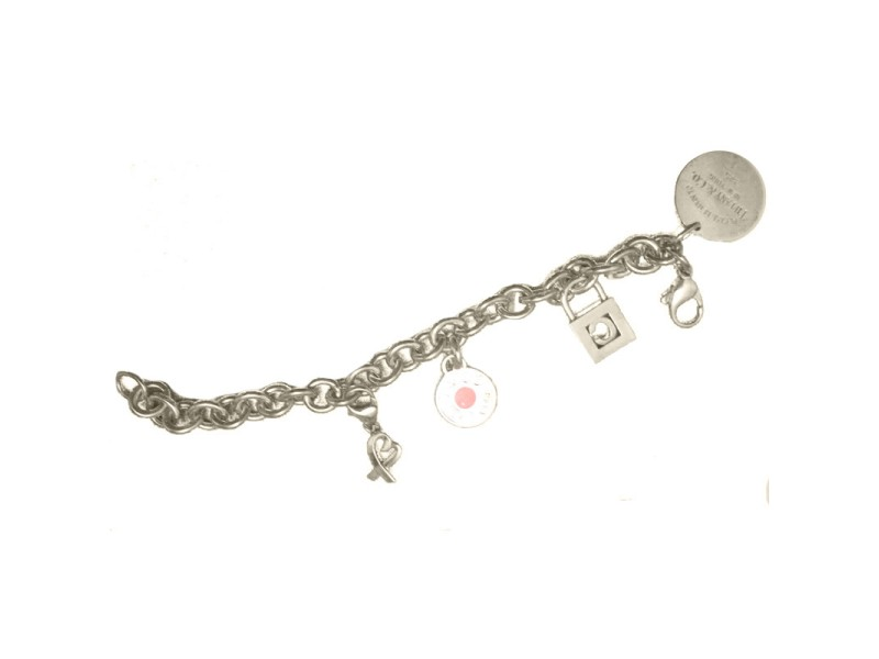 Tiffany & Co. Sterling Silver Charm Bracelet