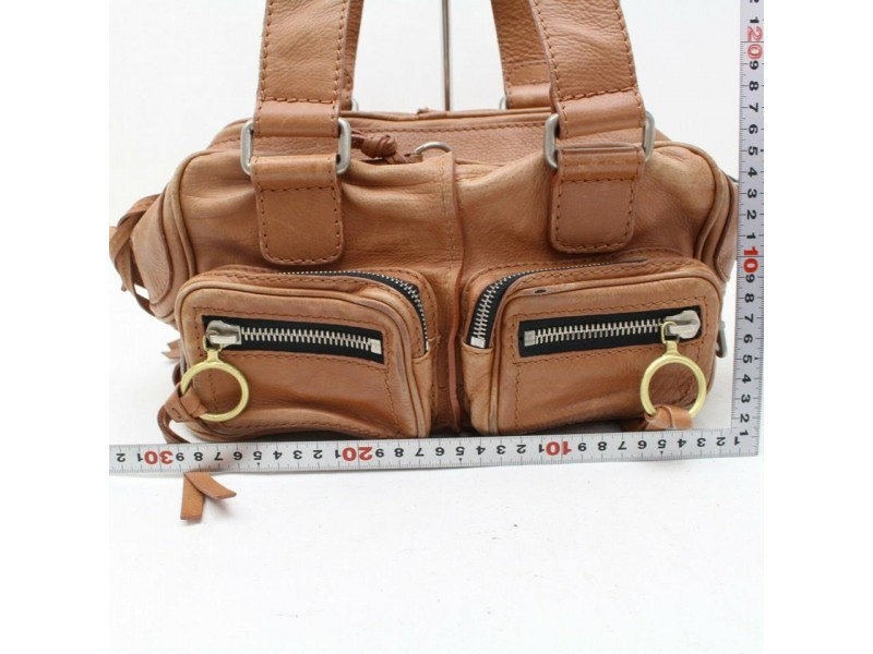 Chloé With Pouch 870032 Brown Leather Satchel
