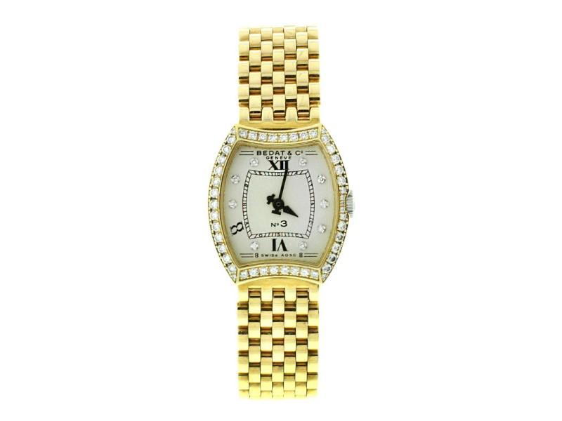 Bedat & Co. 18k Yellow Gold and Diamonds Ref 304 Ladies Watch