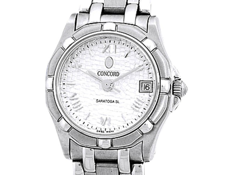 Concord Saratoga SL Stainless Steel Womens Watch