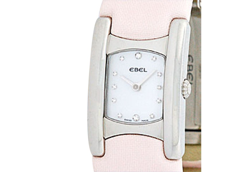"Ebel Stainless Steel ""Beluga Manchette"" Womens Watch"