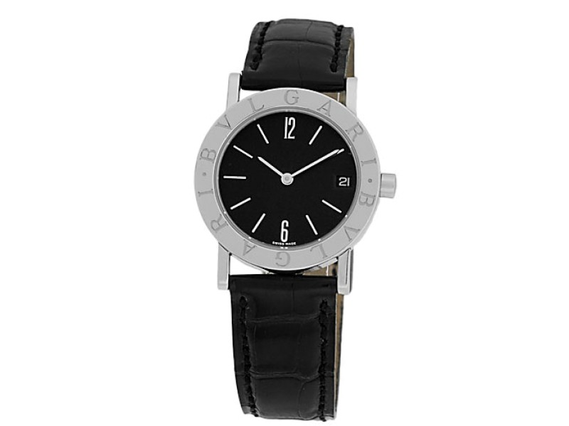 "Bulgari ""Bulgari-Bulgari"" Stainless Steel Watch"