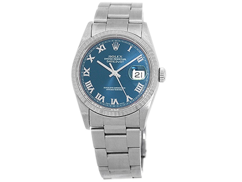 Rolex Stainless Steel Datejust 36mm Mens Watch