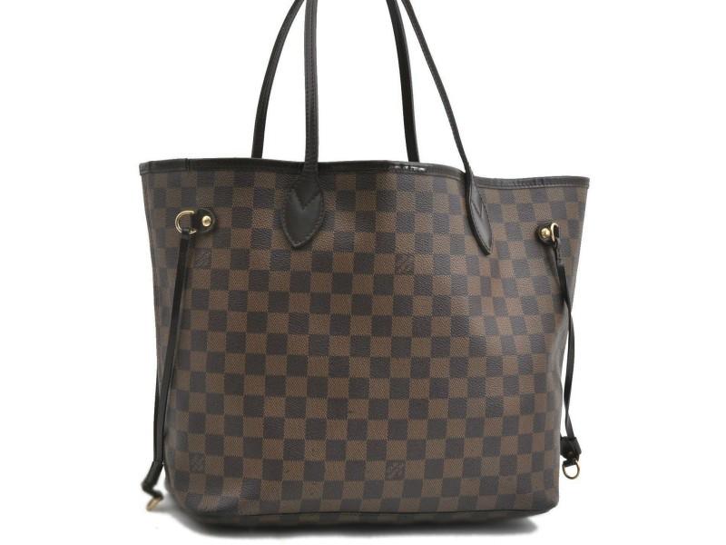 Louis Vuitton Damier Neverfull MM Tote Bag N51105