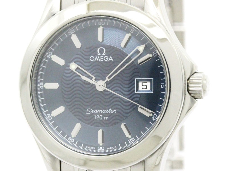 Omega Seamaster 2511.81 Stainless Steel Quartz 36mm Mens Watch