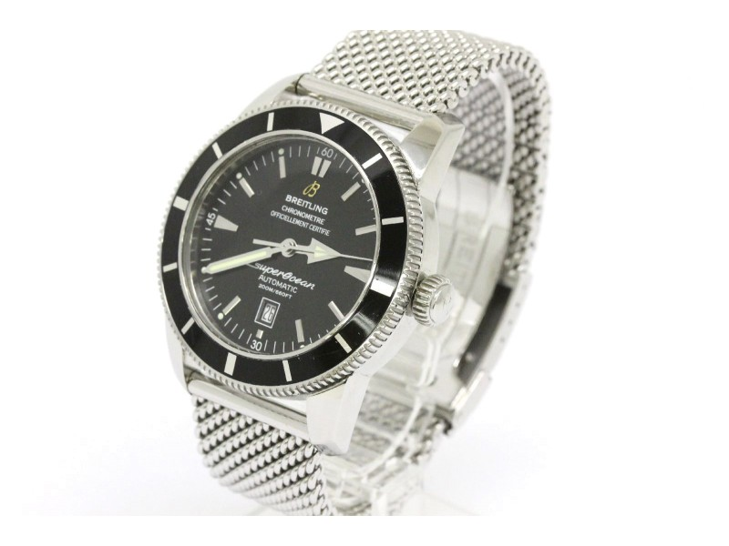 Breitling Super Ocean Heritage Stainless Steel Automatic 46mm Mens Watch