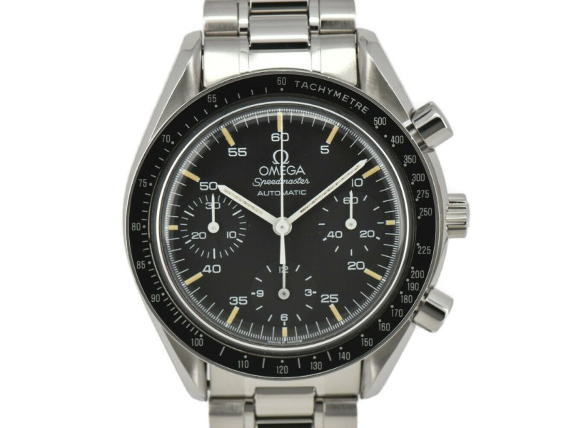 OMEGA Speedmaster 3510.50 Chronograph black Dial Automatic Men's Watch