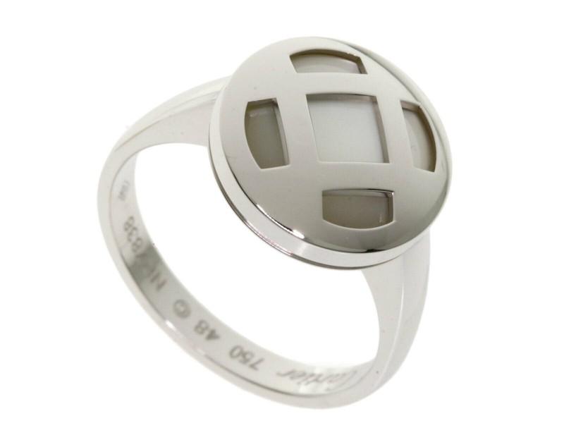 CARTIER 18k White Gold Pasha Ring
