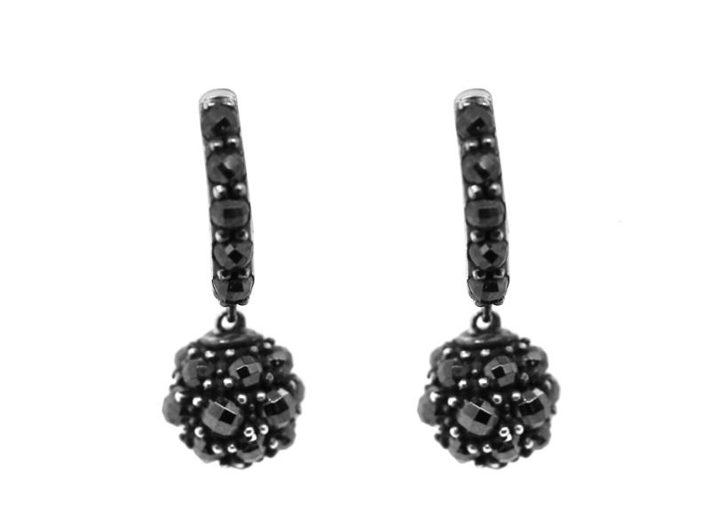 David Yurman Hematite Osetra Berries Earrings