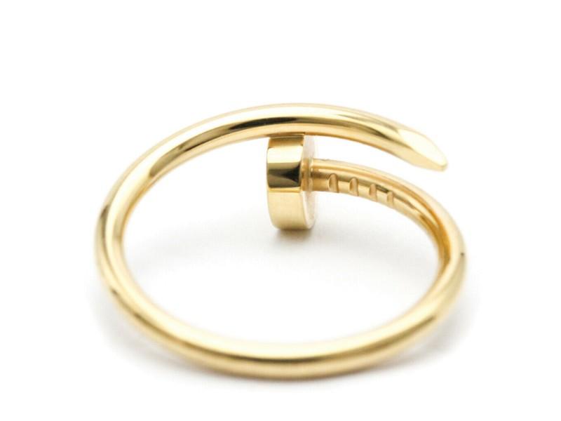 CARTIER 18K Yellow gold Juste un Clou SM Ring