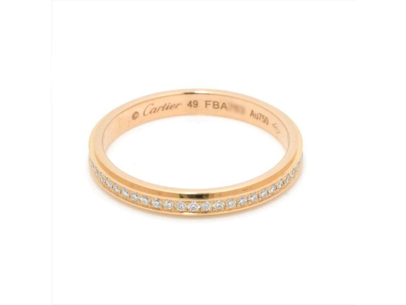Cartier 18K pink gold Diamond Ring