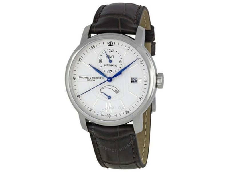 Baume & Mercier Classima Executives 8693 Stainless Steel & Leather Automatic 39mm Unisex Watch