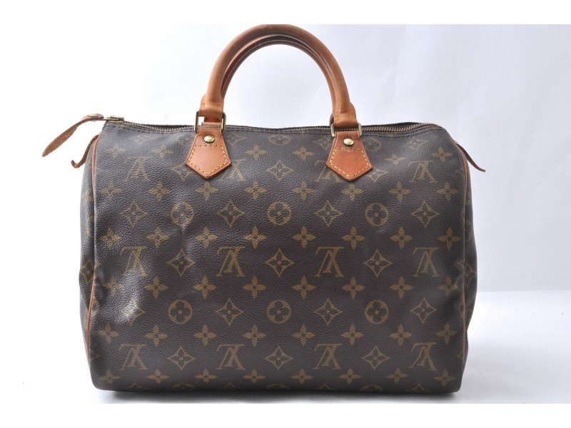 Louis Vuitton Monogram Speedy 30 Hand Bag M41526