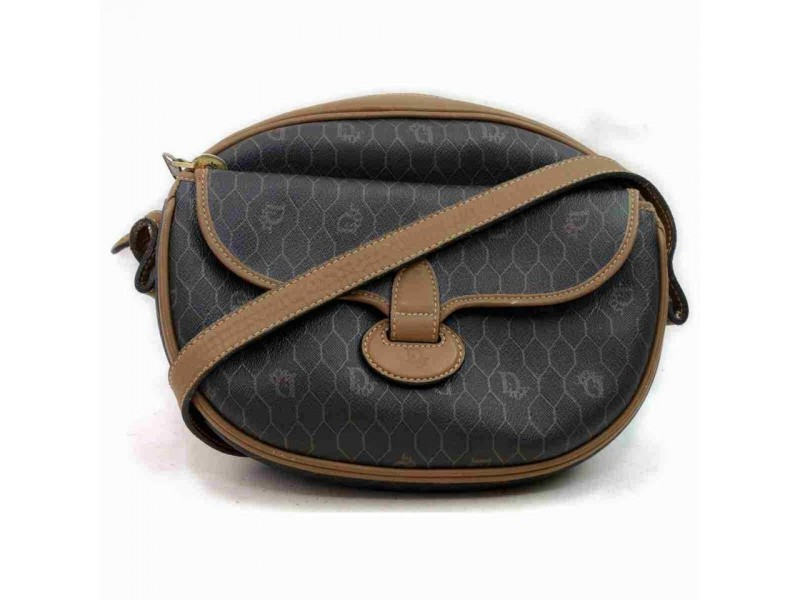 Dior Black Monogram Trotter Messenger 858002