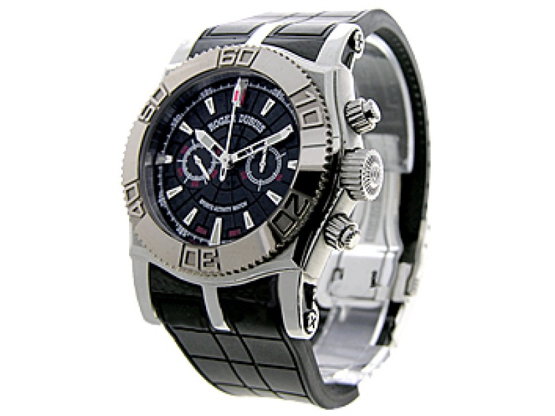 "Roger Dubuis ""S.A.W. Easy Diver"" Stainless Steel Mens Watch"