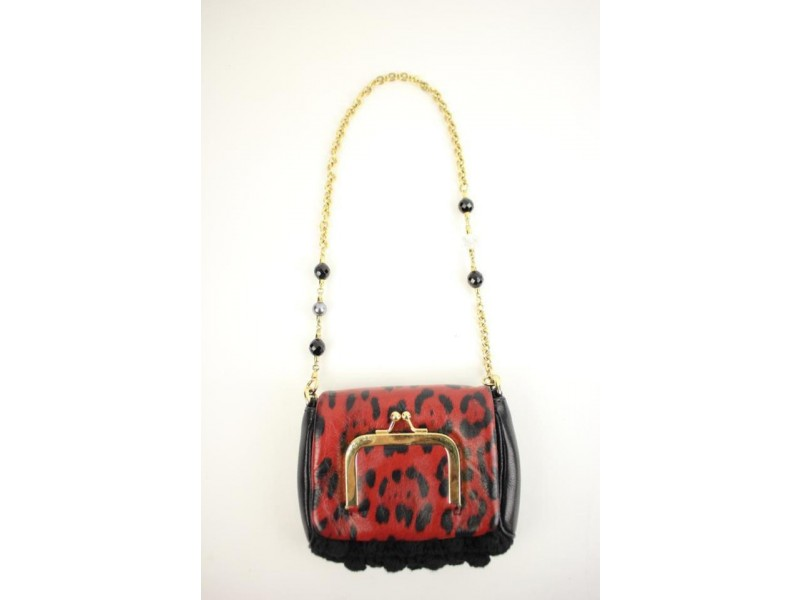 Dolce&Gabbana Evening Bag Runway Mini Dgty02 Multicolor Clutch