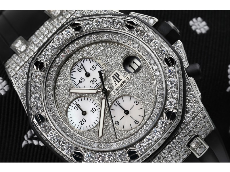 Audemars Piguet Royal Oak Offshore Customized with Genuine Diamonds 26170ST.OO.1000ST.09