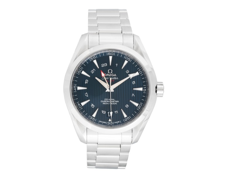 Omega Aqua Terra 231.10.43.22.03.001 Blue Dial Stainless Steel 43 mm Mens Watch