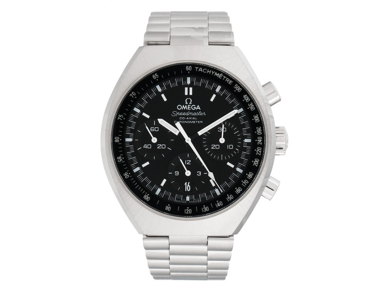 Omega Speedmaster Mark II 327.10.43.50.01.001. Automatic Chronograph Black Dial Stainless Steel 46mm Mens Watch