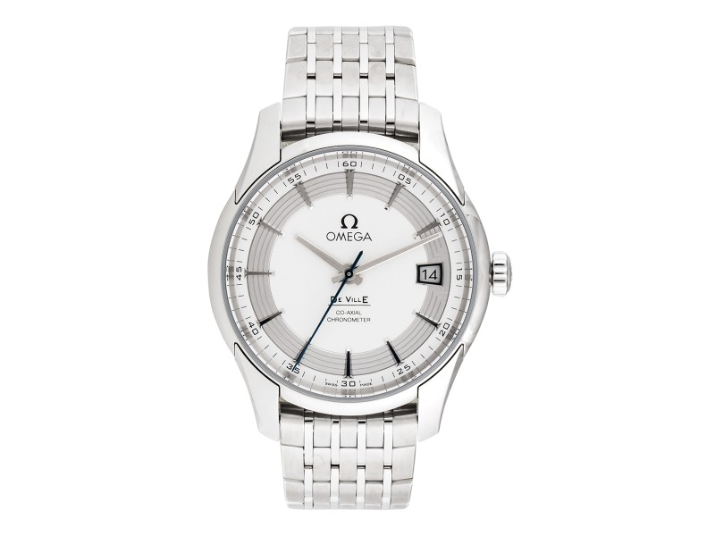 Omega Deville 43130412102001 Silver Dial Stainless Steel 41mm Mens Watch
