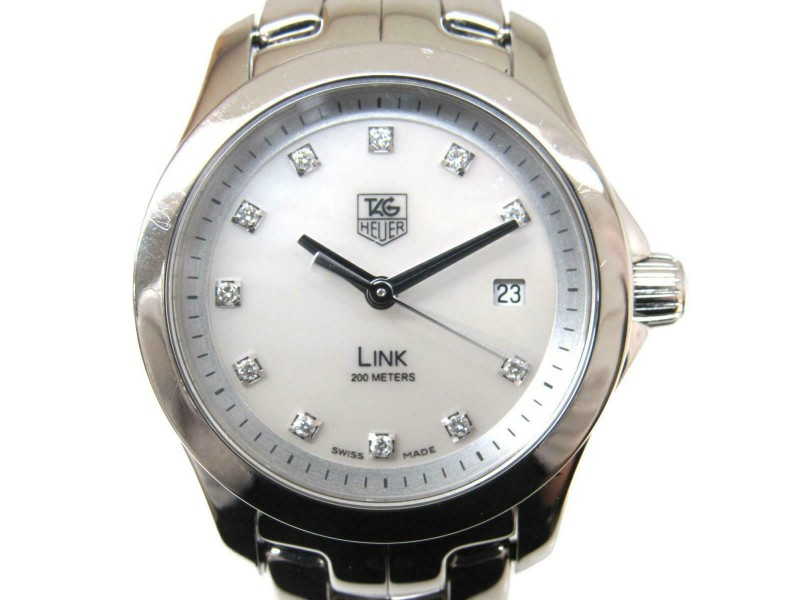 TAG HEUER Stainless steel/Stainless/Diamond steel Link watch RCB-47