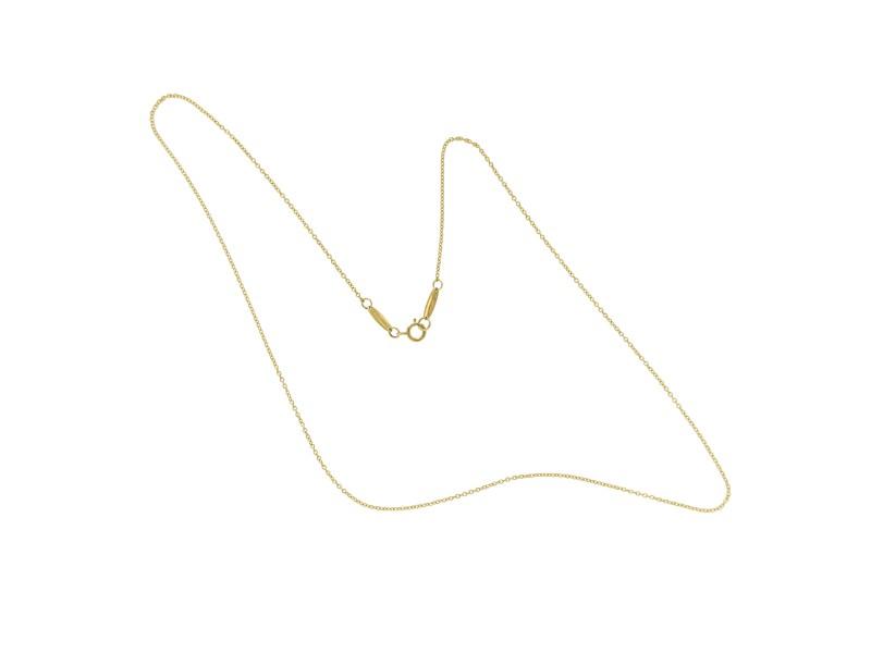 Tiffany & Co. Elsa Peretti 18K Yellow Gold Chain Necklace
