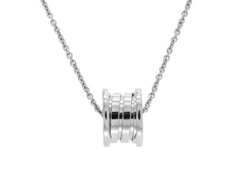 Bulgari  B.Zero 1 18K White Gold Necklace