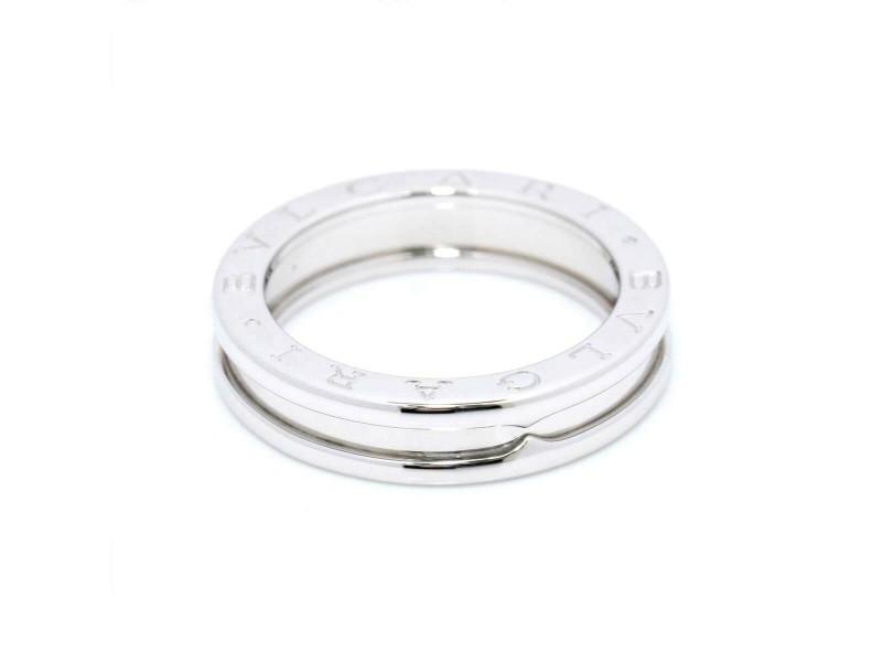 BVLGARI 18K White Gold B-zero Ring