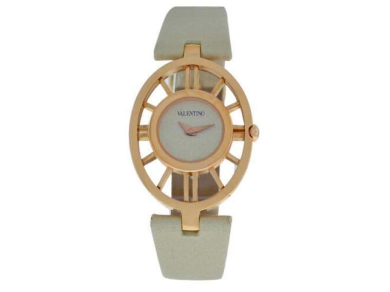 New Valentino V42SBQ5002 S601 Gold Tone Steel Quartz Watch
