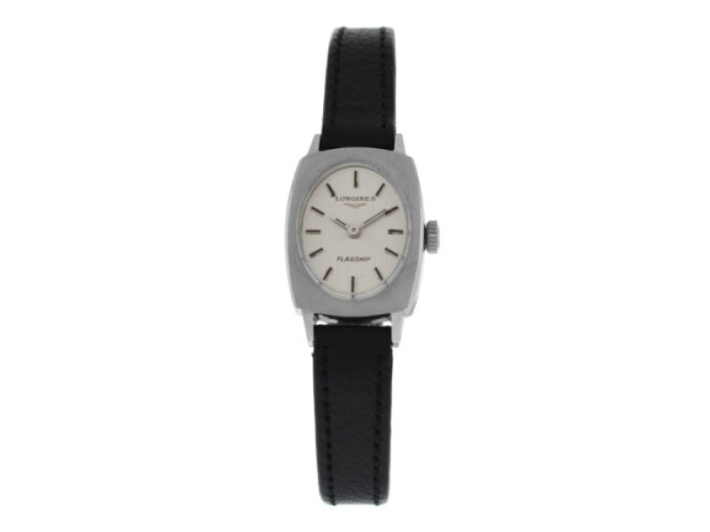 New Ladies' Longines Flagship Stainless Steel Mechanical Hand Winding 19mm Watch
