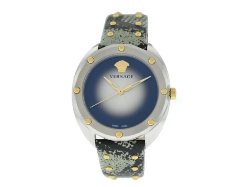 New Ladies' Versace Shadov VEBM00718 Stainless Steel Quartz 38MM Watch
