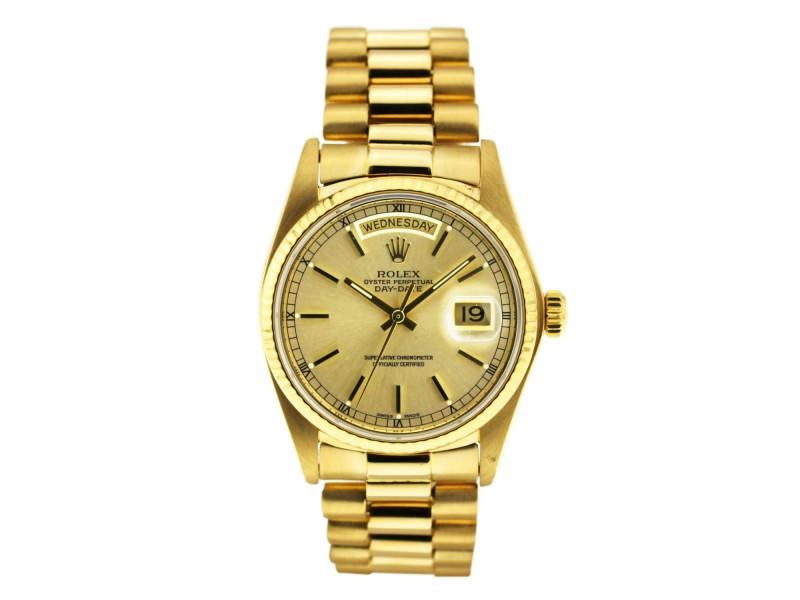 Rolex Day Date Vintage 36mm Mens Watch