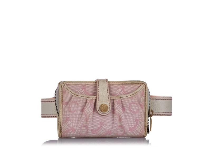 C Macadam Canvas Belt Bag