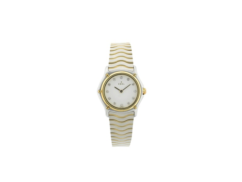 Ebel Ladies Classique Sport Wave with Diamond 1157111 Watch